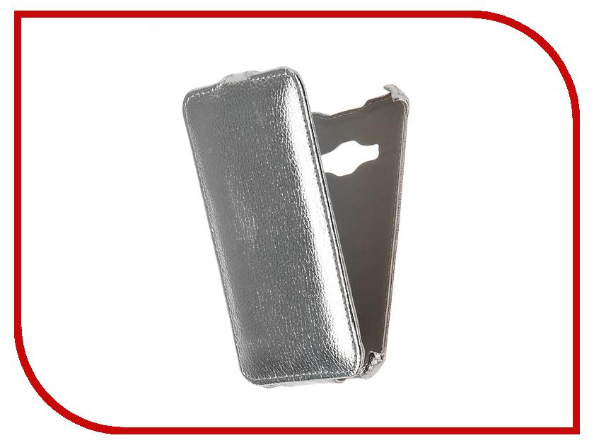 Аксессуар Чехол Samsung Galaxy J1 2016 SM-J120F/DS Zibelino Classico Silver ZCL-SAM-J1-2016-SLV аксессуар чехол tele2 mini 1 1 zibelino classico black zcl tl2 min 1 1 blk