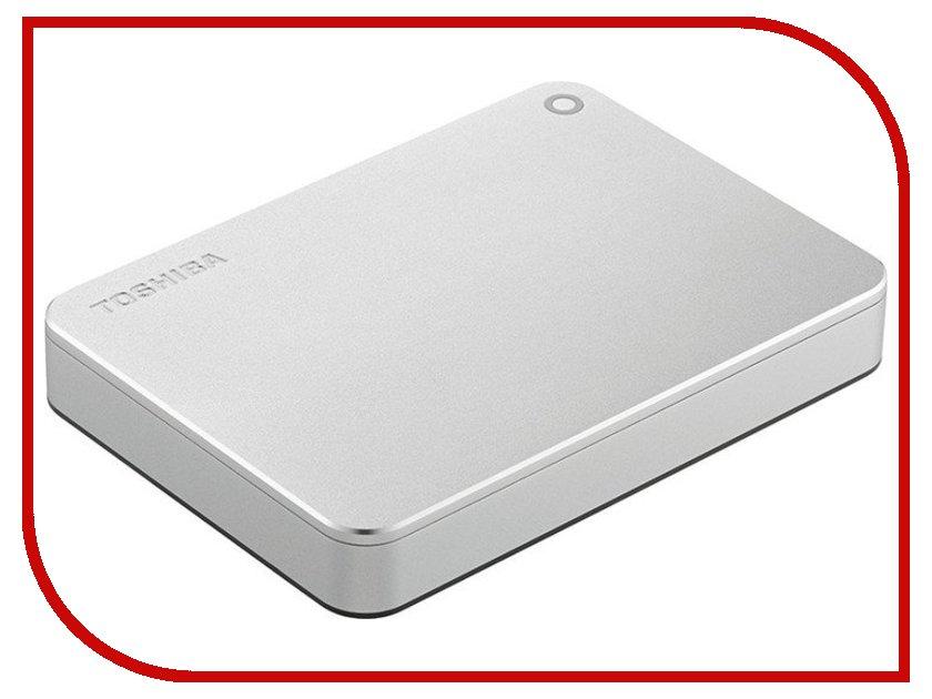 Жесткий диск Toshiba Canvio Premium 3Tb Silver HDTW130EC3CA