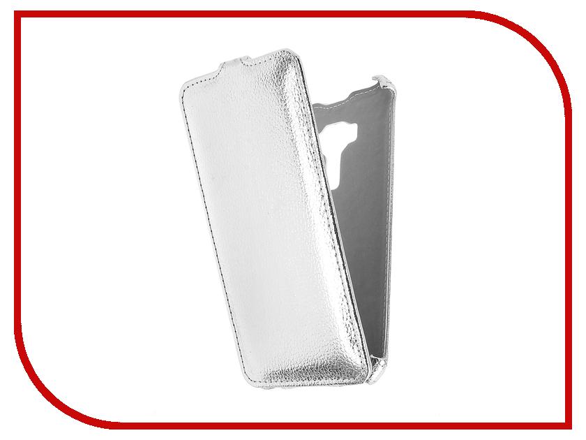 Аксессуар Чехол ASUS ZenFone 3 ZE520KL Zibelino Classico Silver ZCL-ASU-ZE520KL-SLV<br>