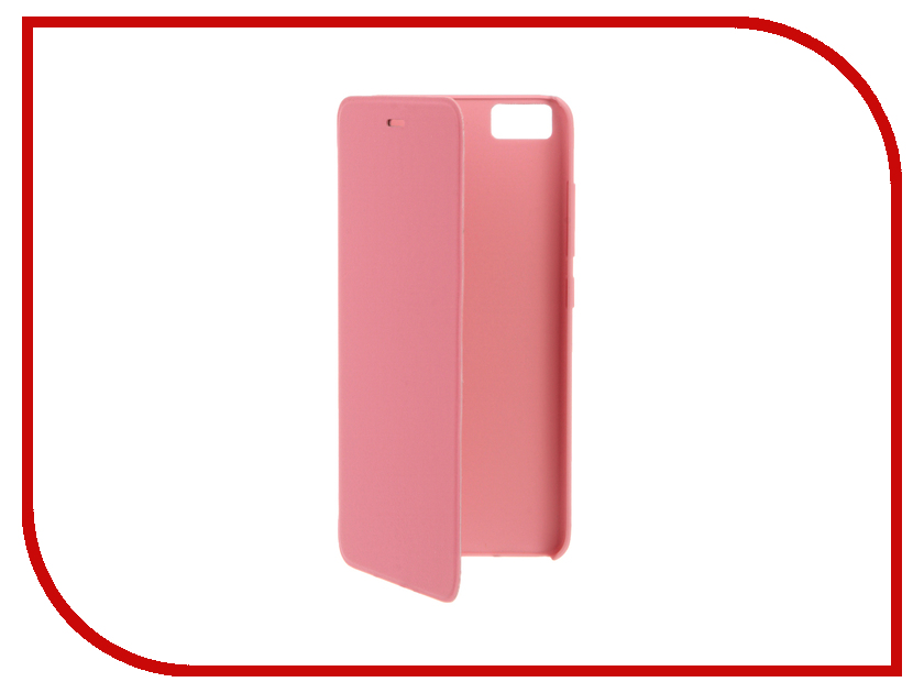 Аксессуар Чехол Xiaomi Mi5 Smart Flip Case Rose Red