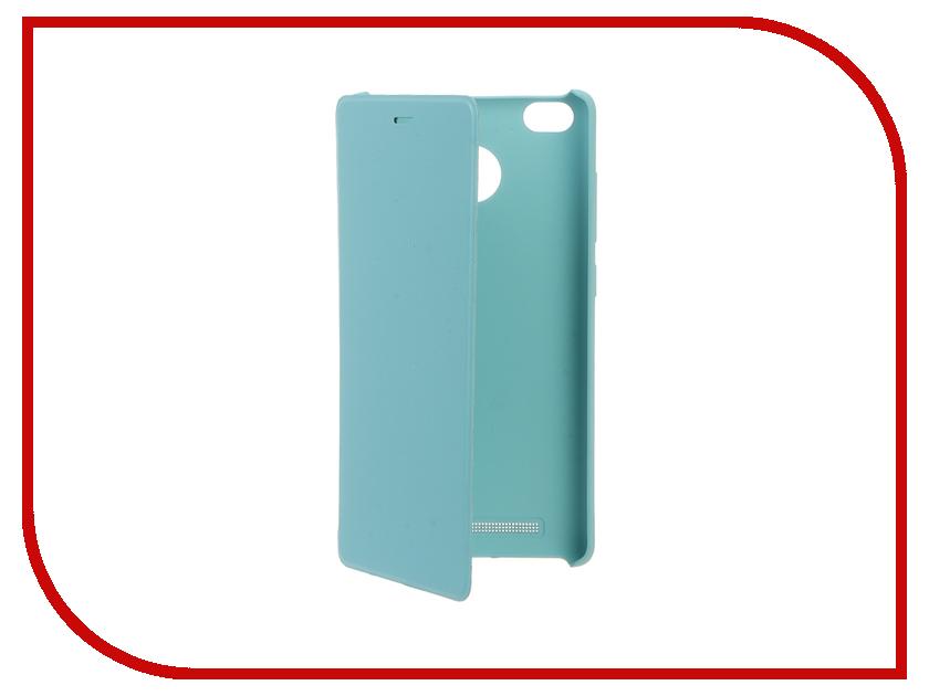 Аксессуар Чехол Xiaomi Redmi 3s Flip Case Blue<br>