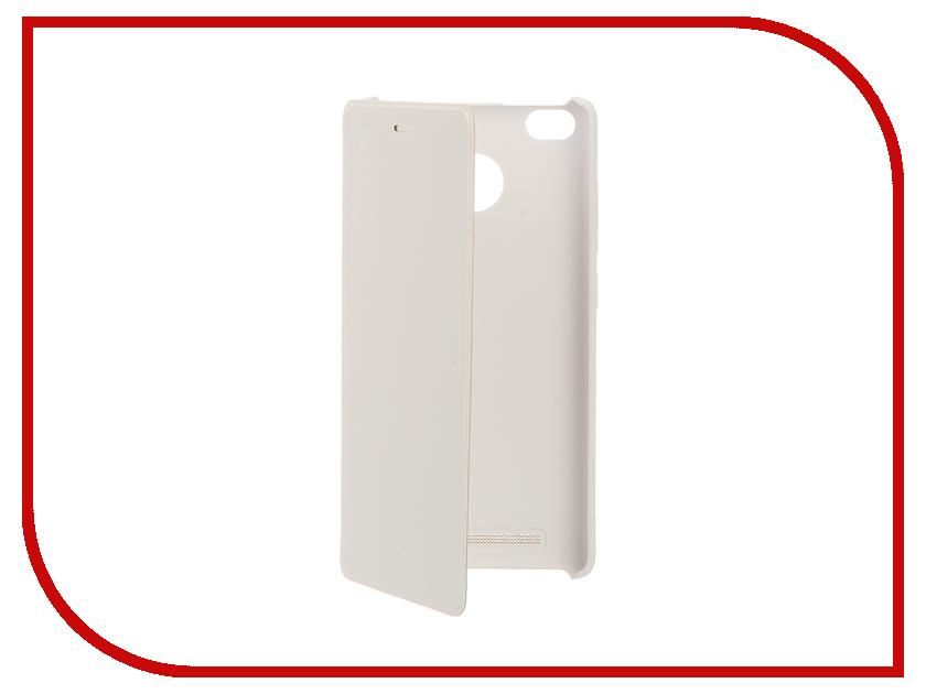 Аксессуар Чехол Xiaomi Redmi3s Flip Case White