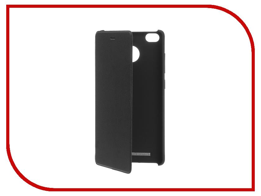 Аксессуар Чехол Xiaomi Redmi 3s Flip Case Black<br>