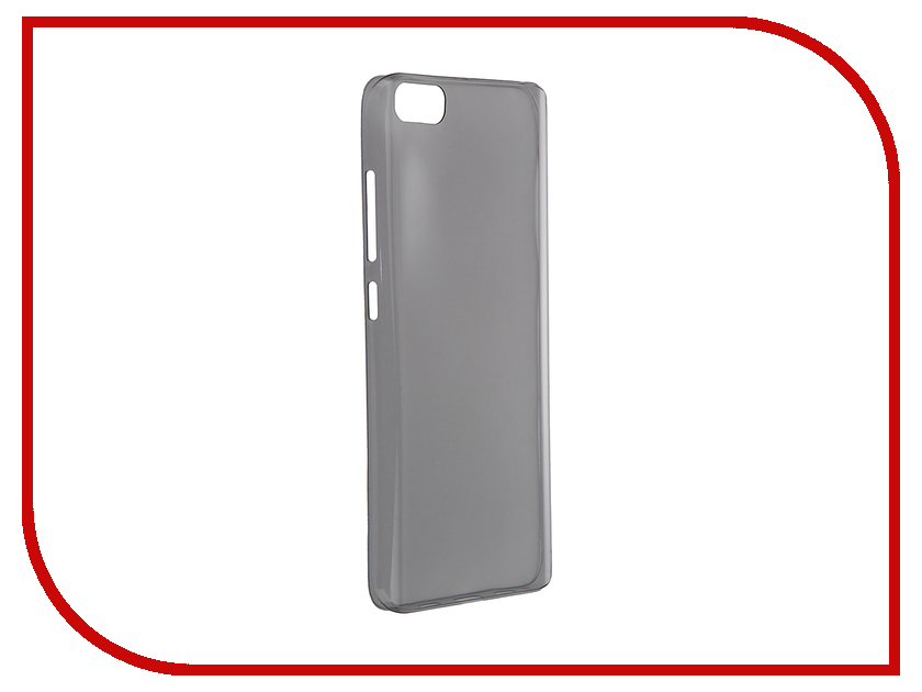 Аксессуар Чехол Xiaomi Mi5 Soft Case Transparent-Black