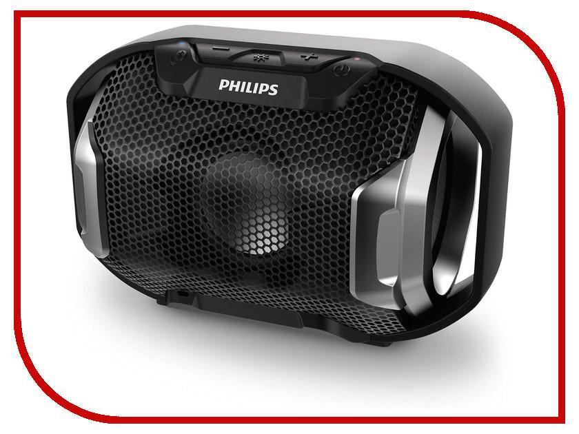 Колонка Philips SB300B колонка philips bt110r 00 red