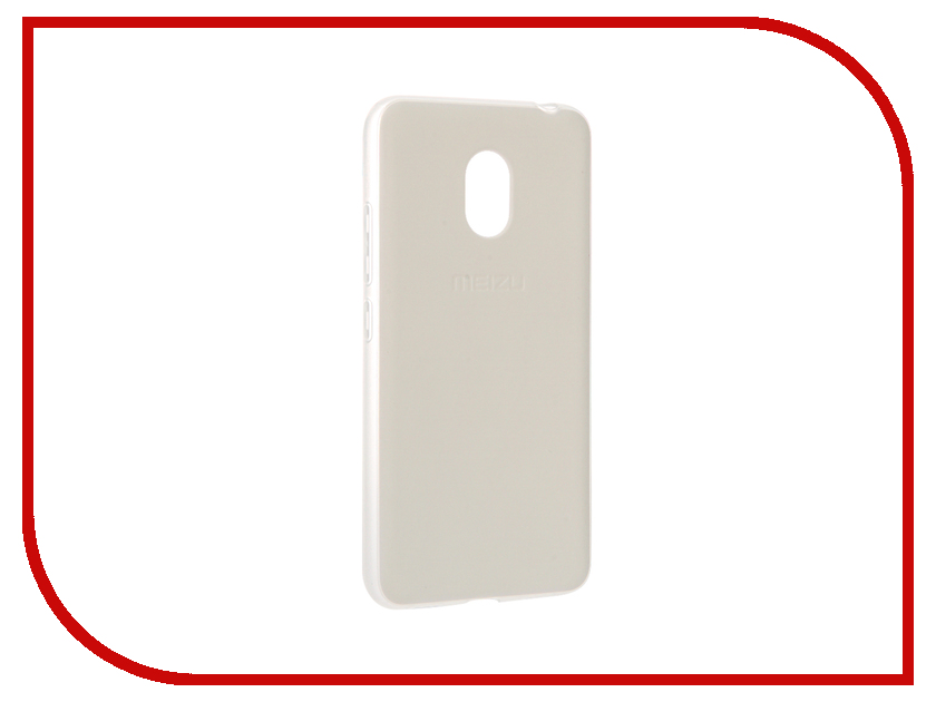 Аксессуар Чехол Meizu M3S Mini Soft Case White<br>
