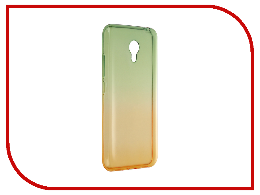 Аксессуар Чехол Meizu M3S Mini Apres Green-Yellow
