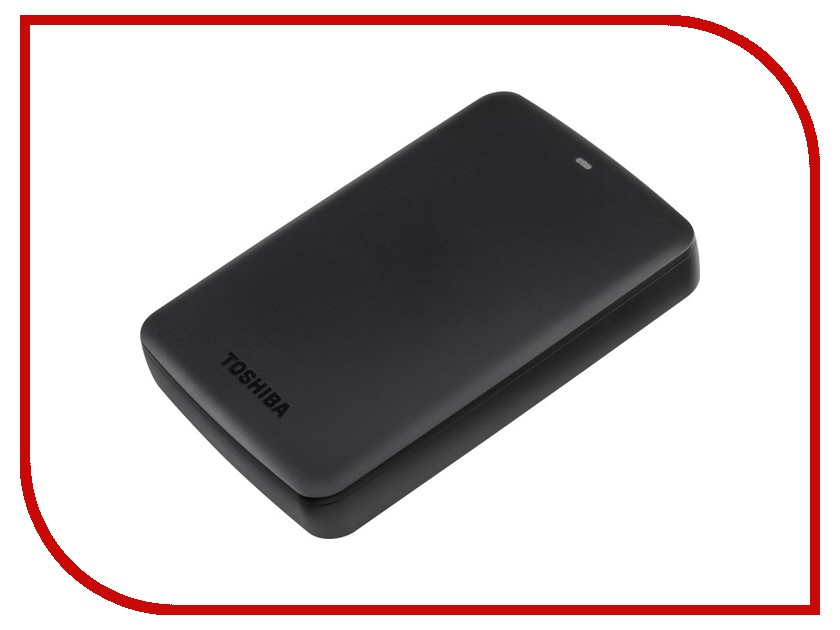 Жесткий диск Toshiba Canvio Basics 3Tb Black HDTB330EK3CA