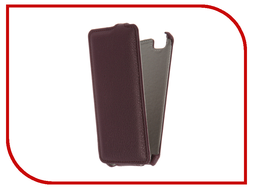 Аксессуар Чехол ZTE Blade A610 Gecko Violet GG-F-ZTEA610-VIO<br>