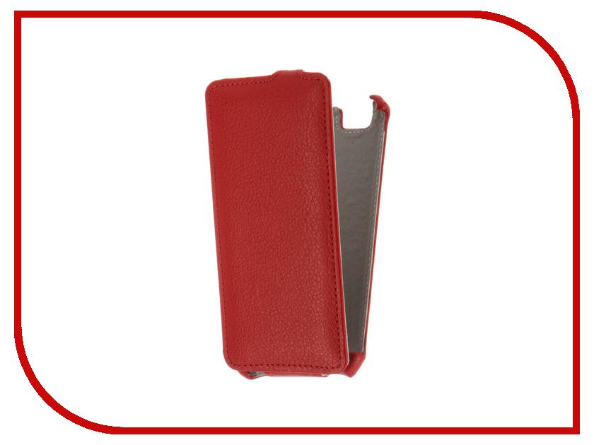 Аксессуар Чехол ZTE Blade A610 Gecko Red GG-F-ZTEA610-RED<br>