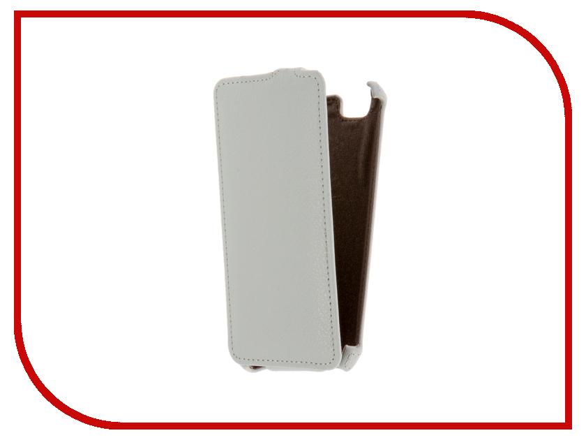 Аксессуар Чехол ZTE Blade A610 Gecko White GG-F-ZTEA610-WH<br>