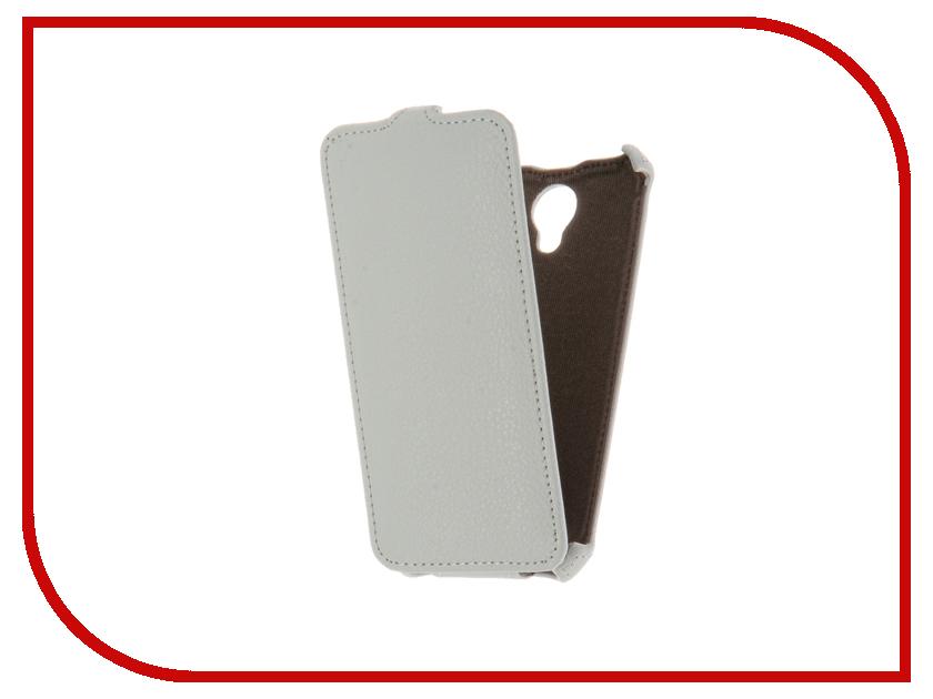 Аксессуар Чехол ZTE Blade A310 Gecko White GG-F-ZTEA310-WH<br>