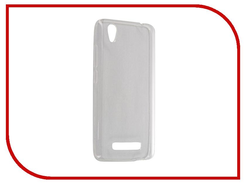 Аксессуар Чехол ZTE Blade X3 Gecko Transparent-White S-G-ZTEZX3-WH<br>