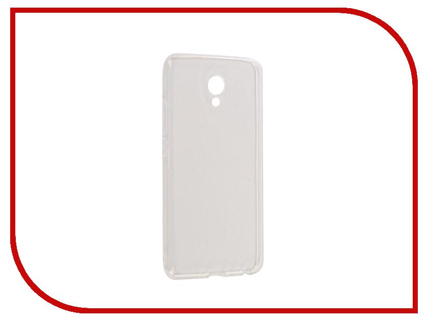 Аксессуар Чехол Meizu M5 Note Gecko Transparent-Glossy White S-G-MEIMNOTE5-WH аксессуар чехол nokia 230 230 dual sim gecko transparent glossy white s g nok230 wh