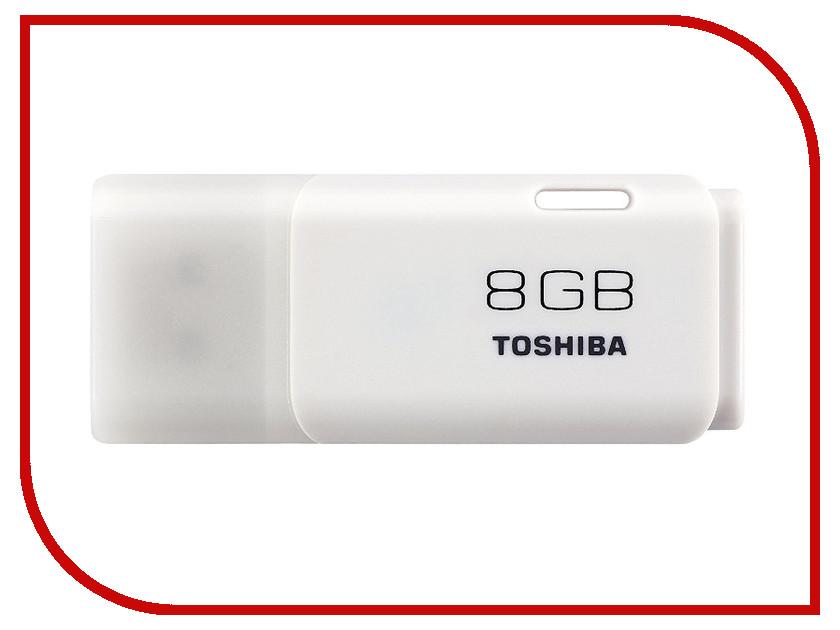 USB Flash Drive 8Gb - Toshiba Hayabusa U202 THN-U202W0080E4<br>