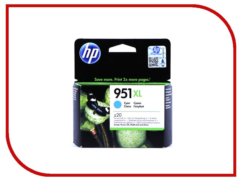 Картридж HP 951XL Cyan CN046AE<br>