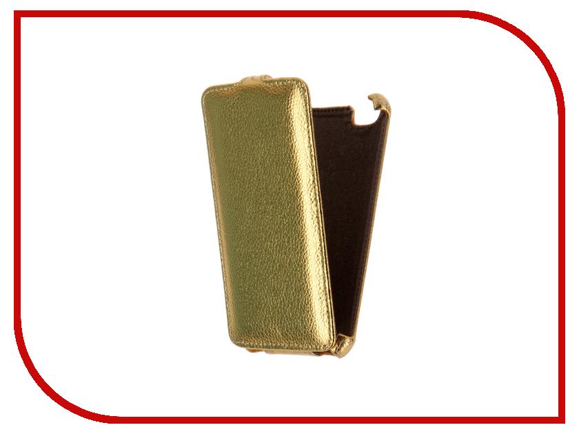 Аксессуар Чехол Fly FS505 Nimbus 7 Gecko Gold GG-F-FLYFS505-GOLD<br>