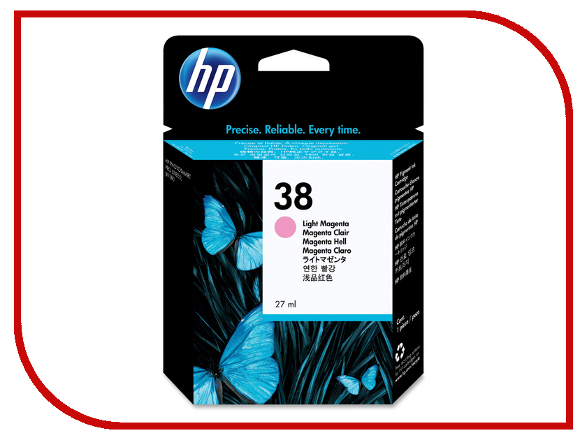 Картридж HP 38 Light Magenta C9419A<br>