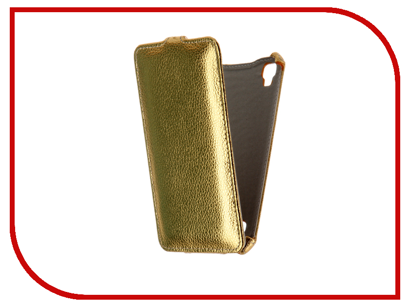 Аксессуар Чехол LG X Style Gecko Gold GG-F-LGXSTYLE-GOLD<br>