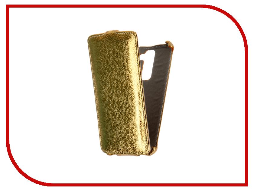 Аксессуар Чехол LG K7 X210ds Gecko Gold GG-F-LGK7-GOLD