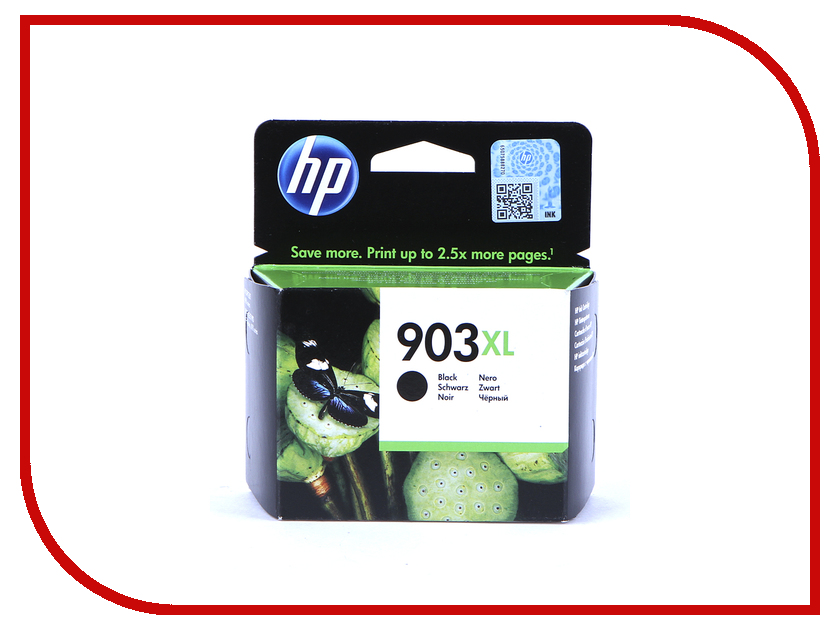 Картридж HP 903XL T6M15AE Black для OfficeJet Pro 6960 картридж hp 934 black c2p19ae