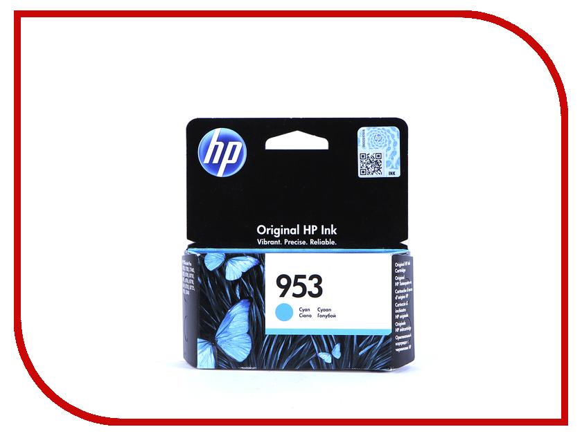 Картридж HP 953 F6U12AE Cyan hewlett packard hp лазерный мфу печать копирование сканирование