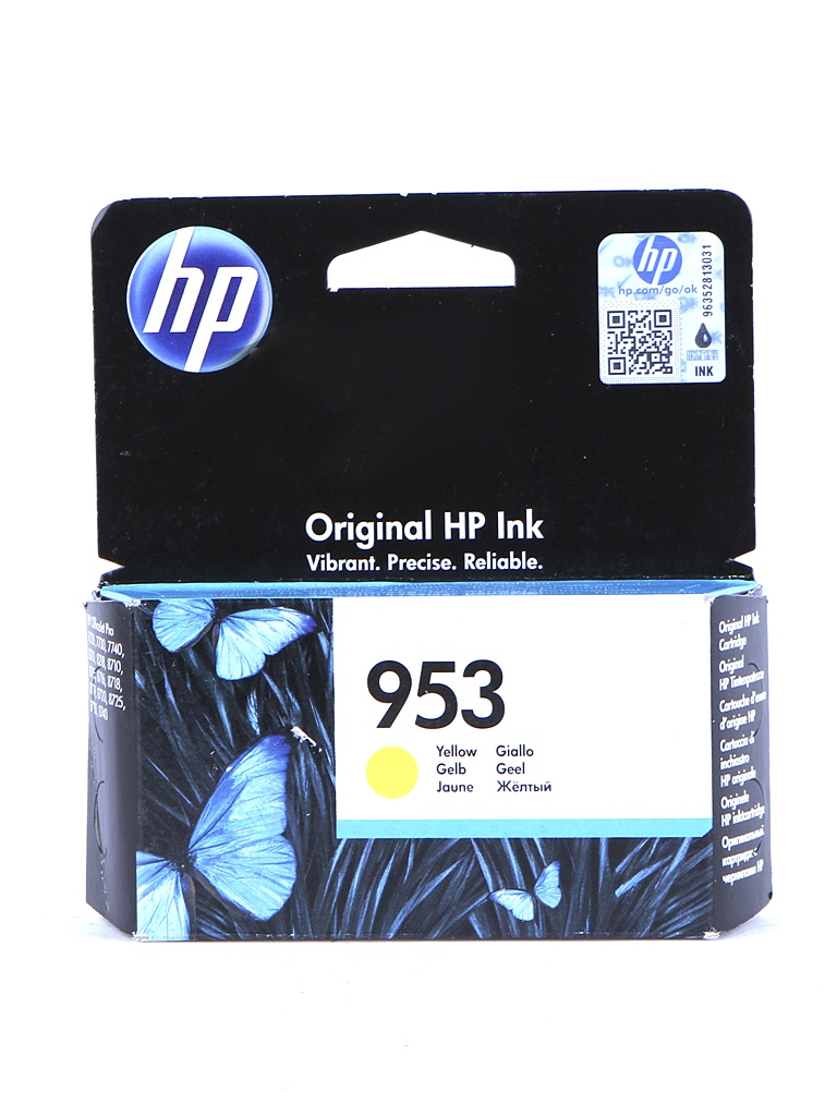 Картридж HP 953 F6U14AE Yellow