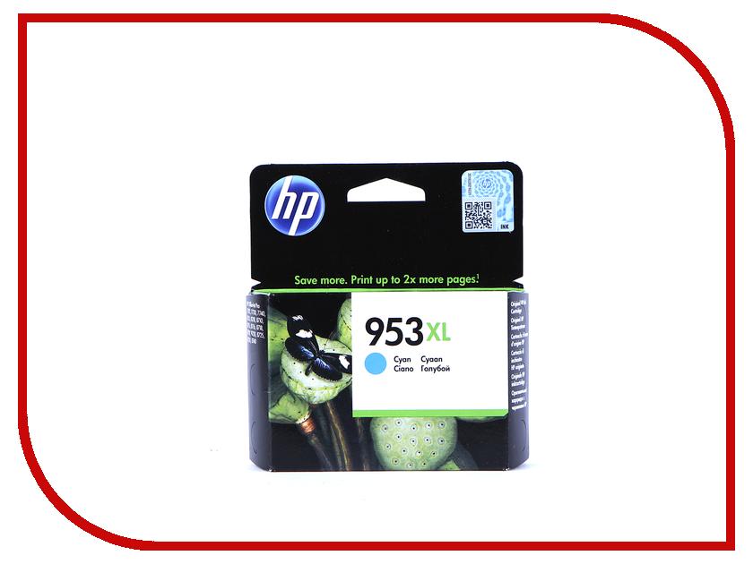 Картридж HP 953XL F6U16AE Cyan hewlett packard hp лазерный мфу печать копирование сканирование