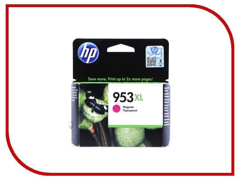 Картридж HP 953XL F6U17AE Magenta hewlett packard hp лазерный мфу печать копирование сканирование