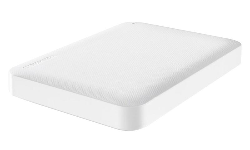 Жесткий диск Toshiba StorE Canvio Ready 1Tb White HDTP210EW3AA
