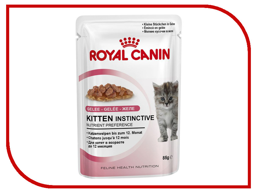 Корм ROYAL CANIN Kitten кусочки в желе 85g для котят 783001 royal canin royal canin exigent protein preference