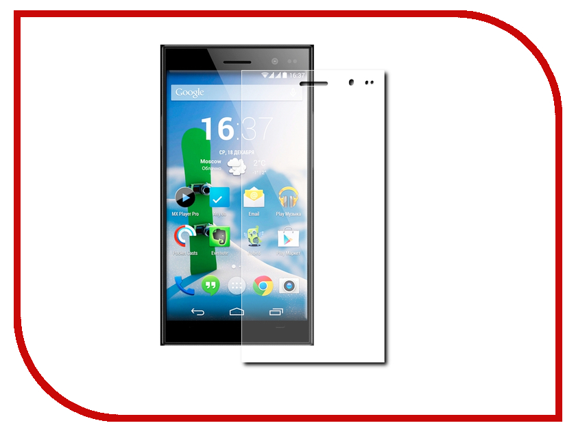 ��������� �������� ������ Highscreen Zera U Gecko 0.26mm ZS26-GHIGZERU