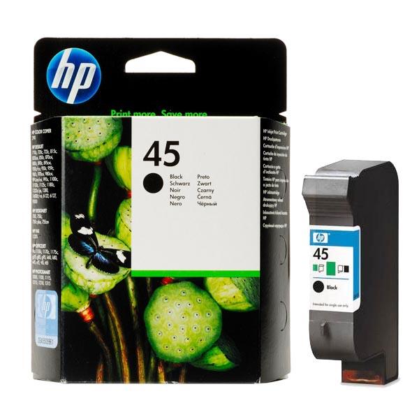 Картридж HP 45 51645AE Black для DJ 850C