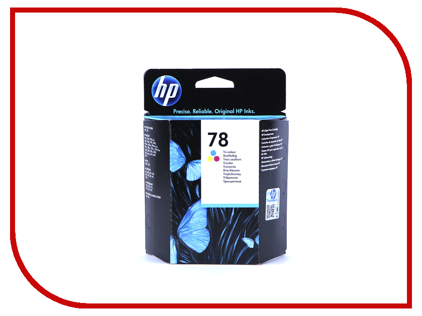 Картридж HP 78 C6578D Tri-colour