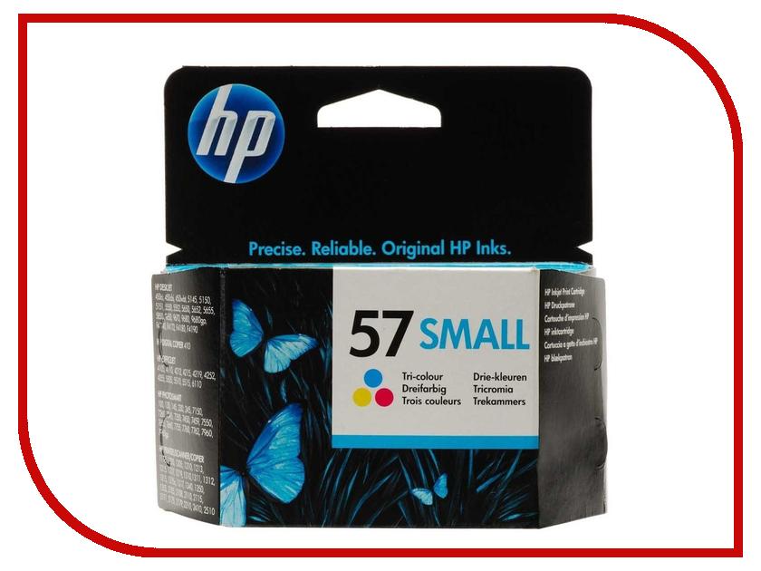 Картридж HP 57 Small Tri-colour C6657GE<br>