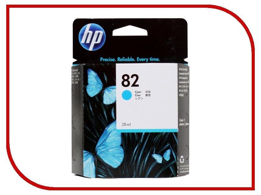 Картридж HP 82 28ml Cyan CH566A<br>