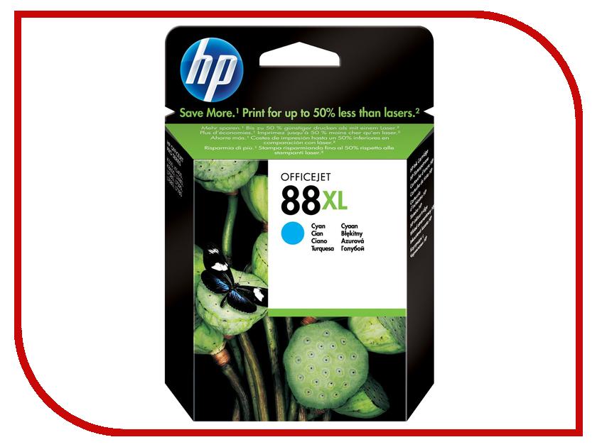 Картридж HP 88XL C9391AE Cyan картридж для принтера hp 88xl c9396ae black