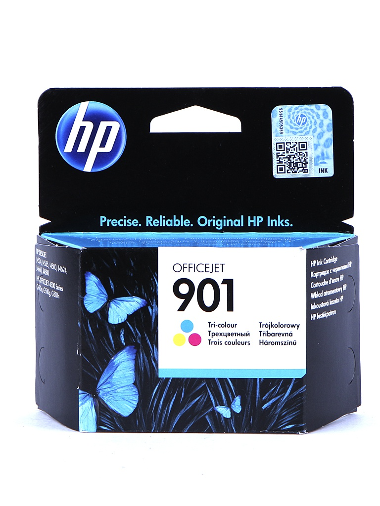 Картридж HP 901 CC656AE Tri-colour для J4580/J4660/J4680