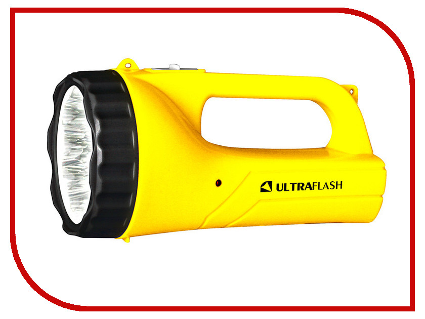 Фонарь UltraFlash LED3816SM Yellow 12101