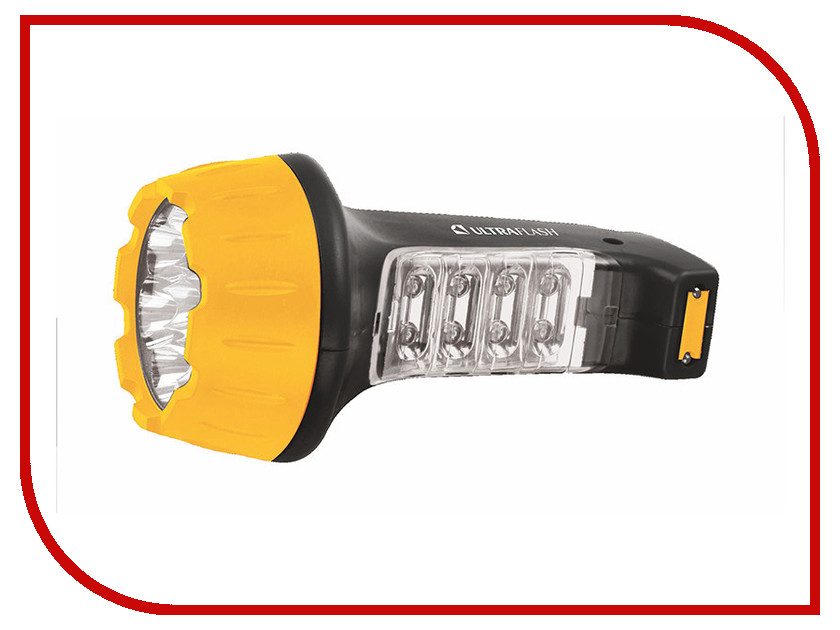 Фонарь UltraFlash LED3818 Black-Yellow 10973