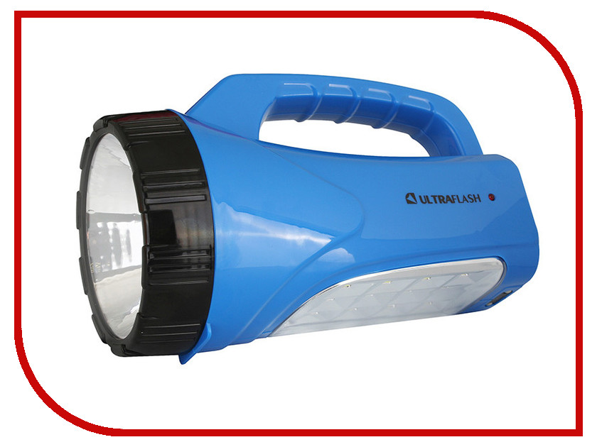 Фонарь UltraFlash LED3818SM Blue 12104