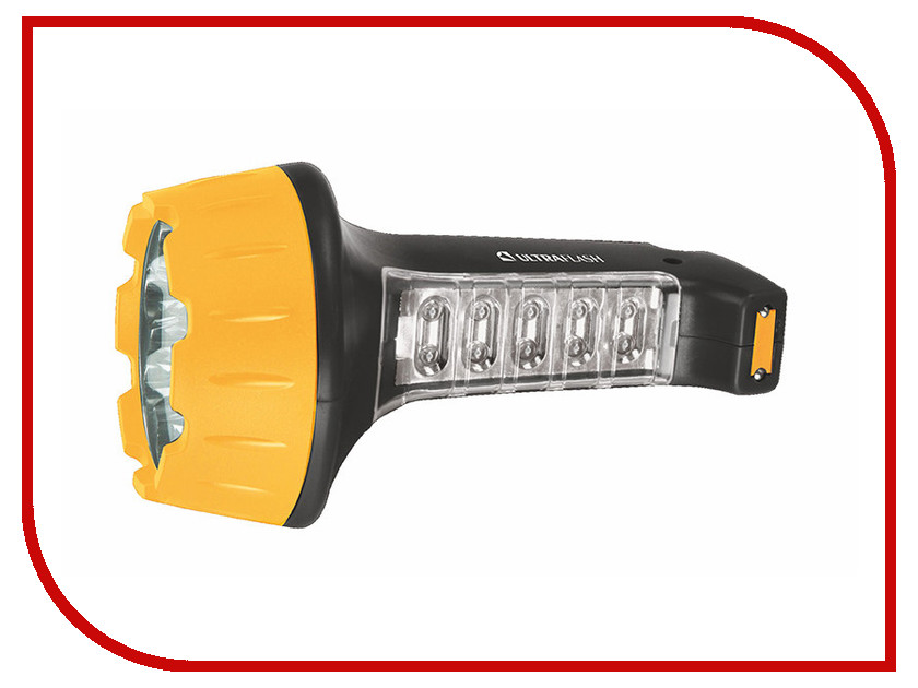 Фонарь UltraFlash LED3819 Black-Yellow 10974