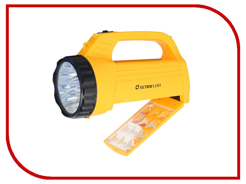 Фонарь UltraFlash LED3819CSM Yellow 12102