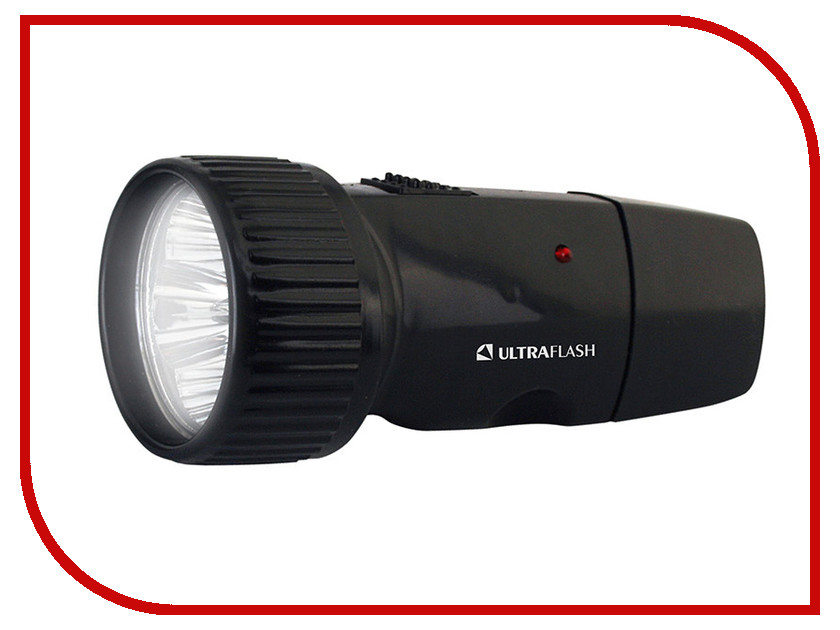 Фонарь UltraFlash LED3850 Black 12098<br>