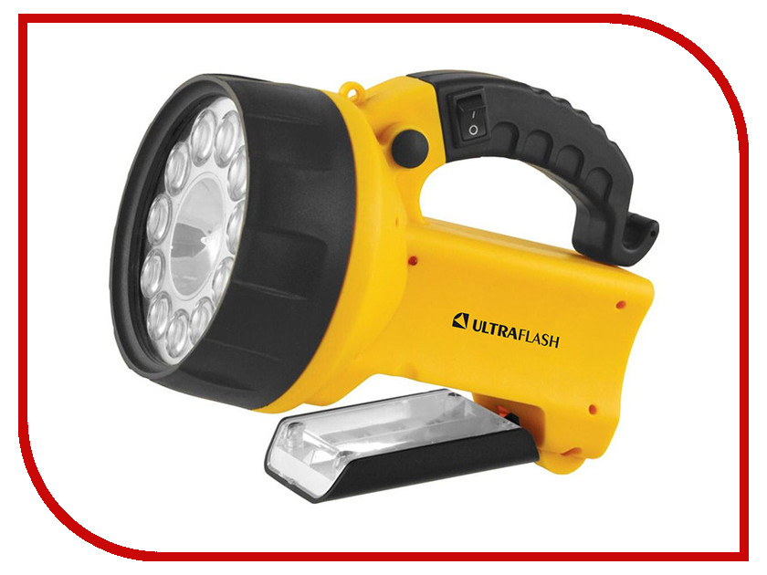 Фото Фонарь UltraFlash UF3753LED Yellow 8311