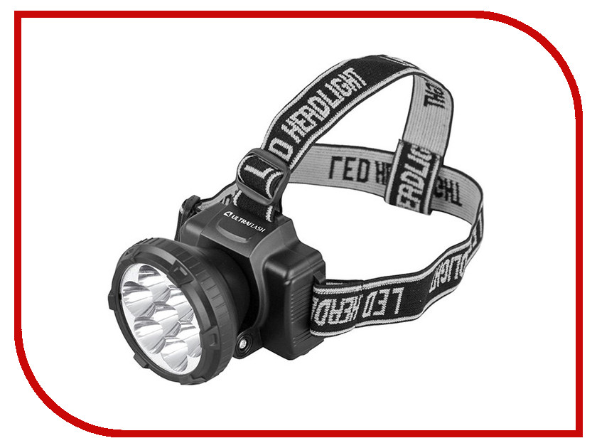 Фонарь UltraFlash LED5362 Black 11256