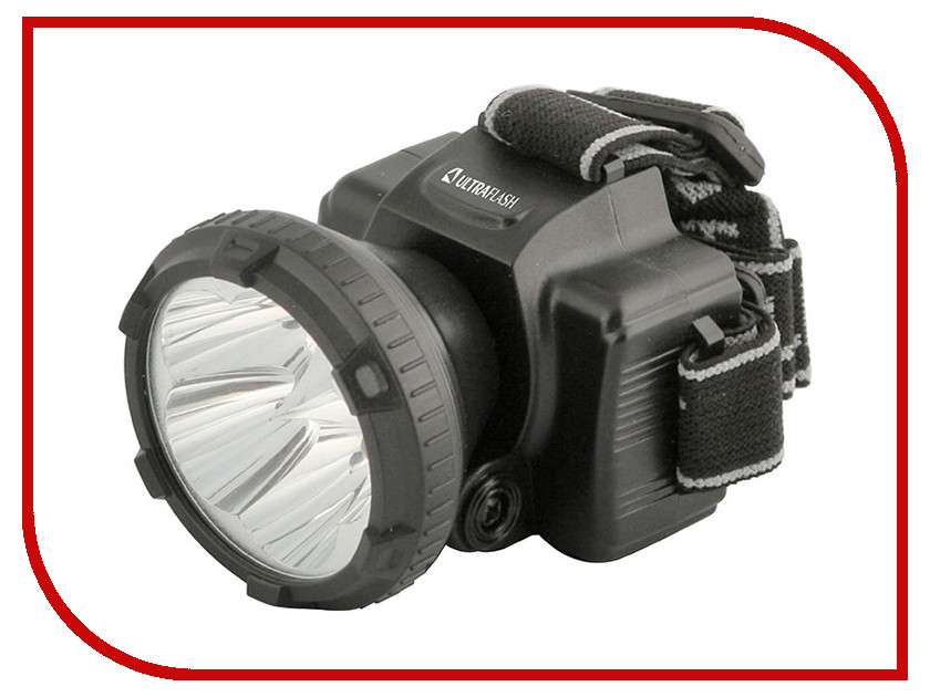 Фонарь UltraFlash LED5365 Black 11648
