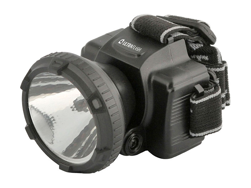 Фонарь UltraFlash LED5366 Black 11649 цена