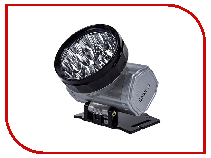 Фонарь UltraFlash LED5371 Silver 12350