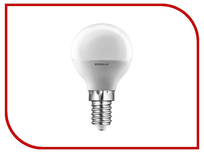 Лампочка Ergolux Шар LED-G45-5W-E14-4K 12140<br>